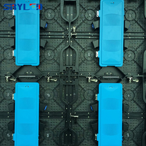 Image 5 - جديد 500*500 مللي متر خزانة p3.91 داخلي led تأجير شاشة عرض led شاشة ألومنيوم السبك بالقوالب خزانة فيديو إعلانات جدار