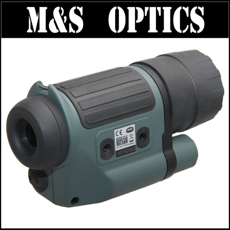 YUKON NVMT SPARTAN 3X42  #24122 Monocular Hunting Night Vision Optical Sight Riflescope Scope For Rifles For Hunter original yukon 24127 night vision scope nvmt spartan 4x50 night vision monocular for hunting night vision device 4 magnification