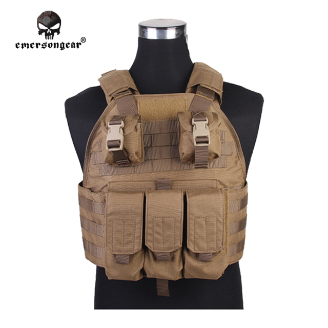 Emersongear-Chasse-Heavy-Gilet-Emerson-CPS-Tactique-Gilet-Body -Armor-Airsoft-Molle-Militaire-Tactique-Vitesse-Coyote.jpg 640x640.jpg 794ec69983a