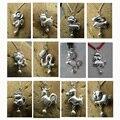 2016 ano do macaco jóias de prata esterlina 999 encantos animais mascote do zodíaco chinês pequenos encantos DIY pingentes jóias dinheiro