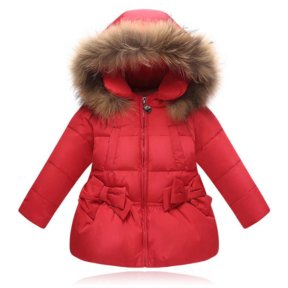 TZ18 Girls Kids Autumn spring Down Jackets 80% Duck Down Long Sleeve Winter Jacket Down Coat Keep Warm Outerwear 1-3 Years Coat xyf8831 girls kids autumn winter down jackets 80