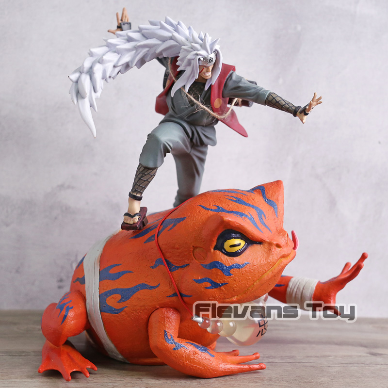 Image 3 - Naruto Shippuden Jiraiya Gama Sennin Gama Bunta GK Statue Figure Toy Brinquedos Figurals Collection Model Gift-in Action & Toy Figures from Toys & Hobbies