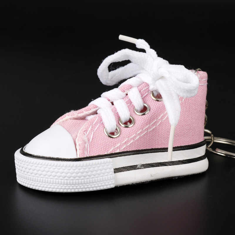 572df1bf5172e6 ... MQCHUN New Arrival Sport Shoes Keyring Mini 3d Sneaker Canvas Shoes  Keychain Tennis Shoe Chucks For ...