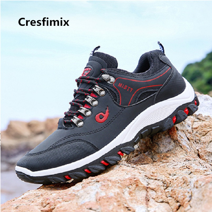 Cresfimix baskets hommes male cool spring outside shoes men casual high quality anti skid autumn sneakers lace up shoes <font><b>3082</b></font> image
