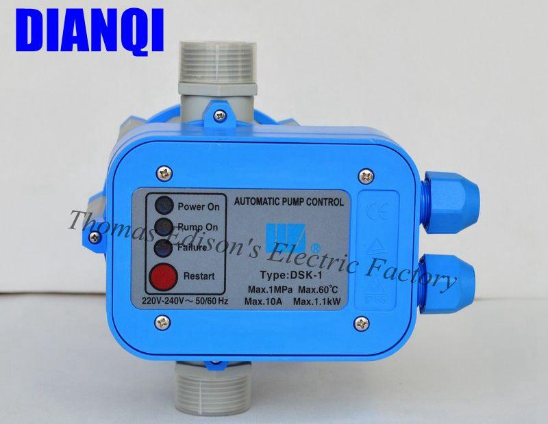 все цены на  220V 2.2bar AUTOMATIC PRESSURE CONTROL ELECTRONIC SWITCH FOR WATER PUMP  онлайн
