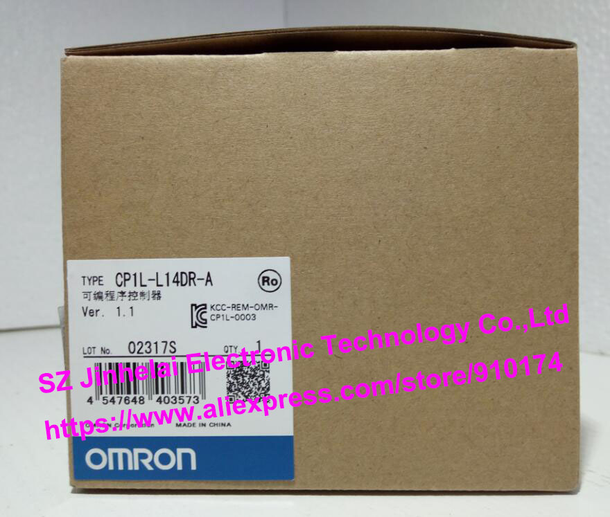100% New and original  CP1L-L14DR-A  OMRON PLC CONTROLLER new and original e3x da11 s omron optical fiber amplifier photoelectric switch 12 24vdc
