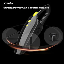 Car Vacuum Cleaner Wet And Dry Dual-Use 12V 120W High Power Cleaner 3700Pa Auto Portable Vacuum Cleaner HEPA