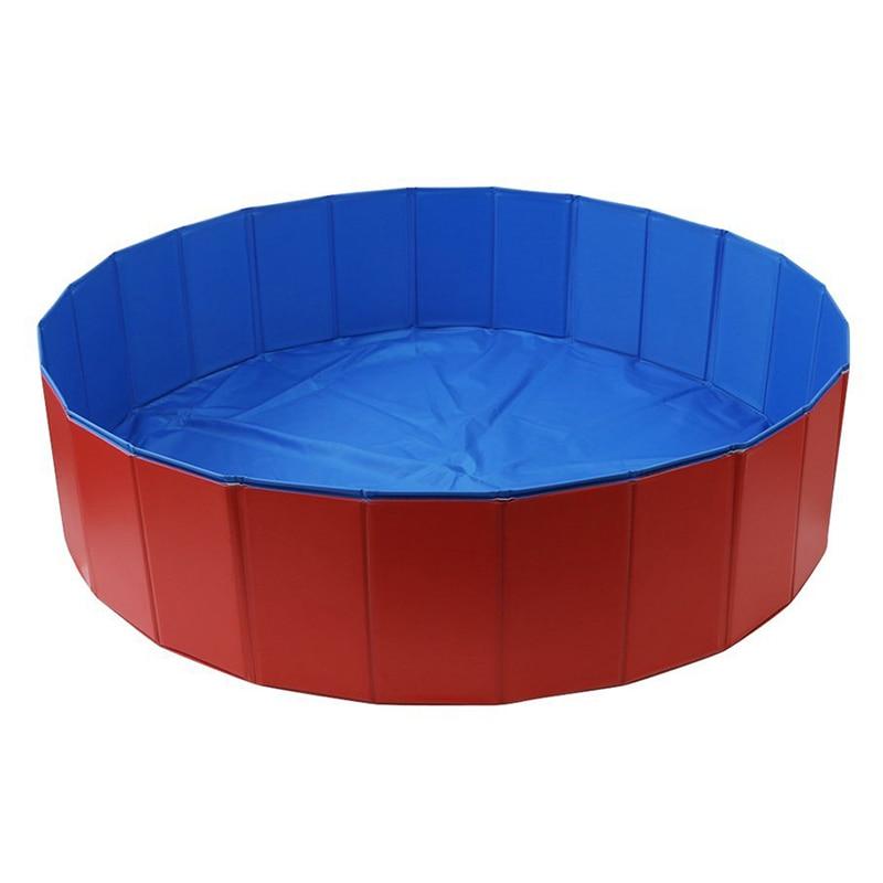New Foldable font b Pet b font Swimming Pool Bathing Tub Bathtub Dog Cats Washer in