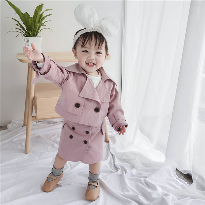 2Pcs 2019 Spring Toddler Girls Clothing Outfit Kids Clothes Princess Suit Childrens Sets Long Sleeves Blazer Coat+Skirt 1-5Year2Pcs 2019 Spring Toddler Girls Clothing Outfit Kids Clothes Princess Suit Childrens Sets Long Sleeves Blazer Coat+Skirt 1-5Year