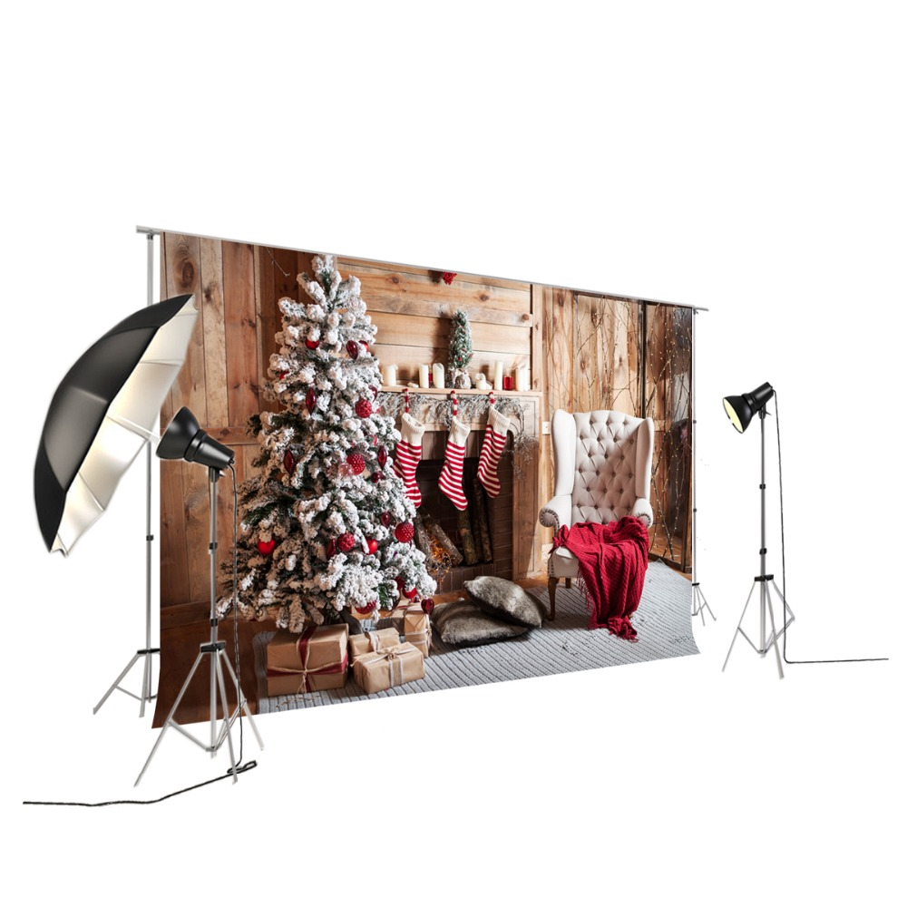 Christmas Photography Backdrops Wall Decorations Background Newborn Photo Background Party Backdrop XT-6159 huayi 3x6m seamless brick wall wood floor backdrop photography backdrops photo background vinyl backdrop brick paper xt 6400