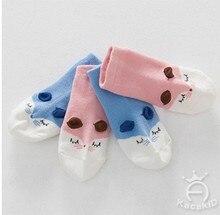 EMS/ DHL Free Shipping 2017 New Cotton Socks Children Cartoon Cute Little Fox Infant kid socks