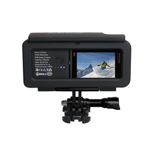 Image 3 - צד נייד חיצוני אספקת חשמל עם הגנת מסגרת שיכון לgopro Hero5/6/7 שחור סוג  C מצלמה אבזרים