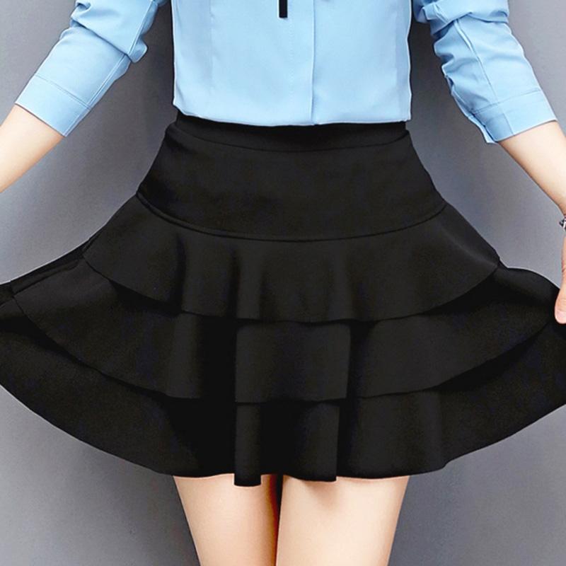 HTB1JQ5ZRXXXXXXiXVXXq6xXFXXXB - A-Line Style Girls Black Skirts PTC 160