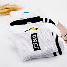 Color Soft 1Pair Unisex Comfortable Pure Cotton Sock Slippers Moisture proof Long Socks