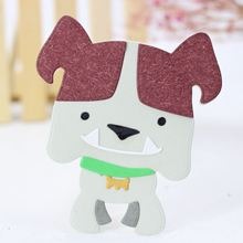 AZSG Three-dimensional dog Cutting dies/scrapbooking dies metal Dies scrapbooking