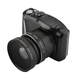 Max 16MP Photographing DSLR Digital Camera DC-510T 8x Digital Zoom 5.0MP CMOS Photo Camera 2.4LCD Display DVR With Wide Lens