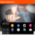 Pantalla Táctil de 7 Pulgadas de Coches Espejo Retrovisor Con GPS DVR Transmisor FM Para Android 4.4 Quad Core 1G DDR3 16G Flash nueva