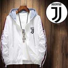 Juventus 2019 Juve New Fashion Men Jacket Spring Autumn Male Casual Sportswear Student Loose Jackets(China)