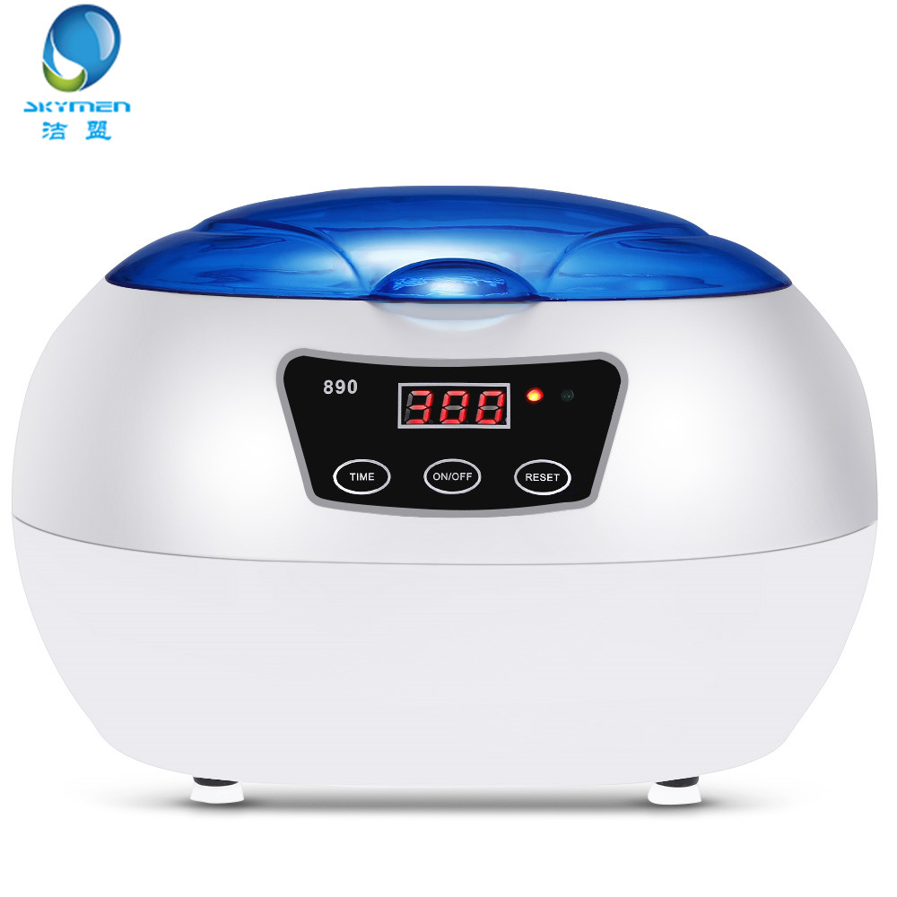 SKYMEN JP 890 600ML Ultrasonic Cleaners Cleaning Machine AC220 240V Professional Cleaner Jewelry Watches Washing Equipment