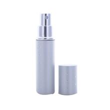 Wysokiej jakości 100 sztuka 10 ml mini butelki do perfum z aluminium 10CC moda przenośny Atomizer butelki z rozpylaczem Parfum pojemnik tanie tanio Wielokrotnego napełniania butelek AIKUAJING JSPP-18-10 Refillable Bottles 6 COLORS as picture Perfume Bottle Aluminum GLASS
