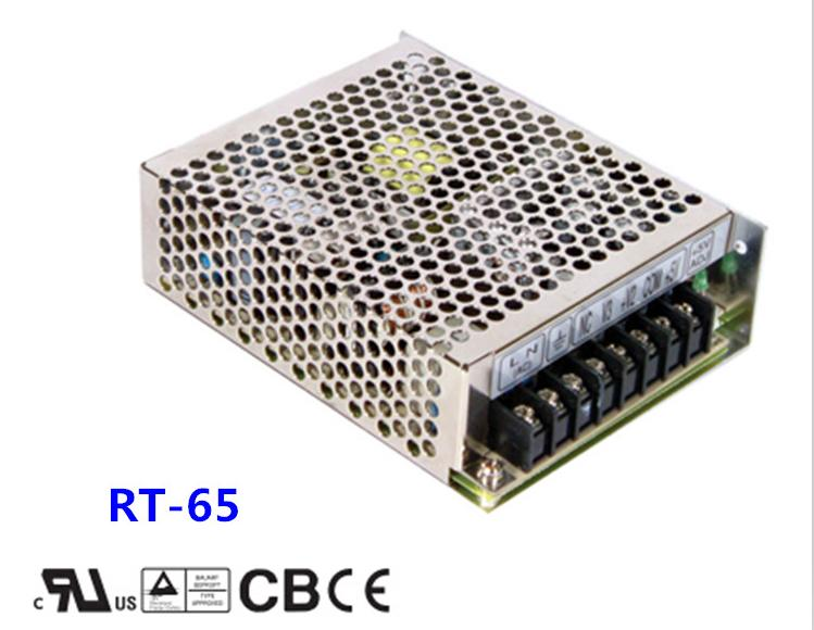 Free shipping 1pc  RT-65C 65.5w 5v 5A Triple Output Switching Power Supply