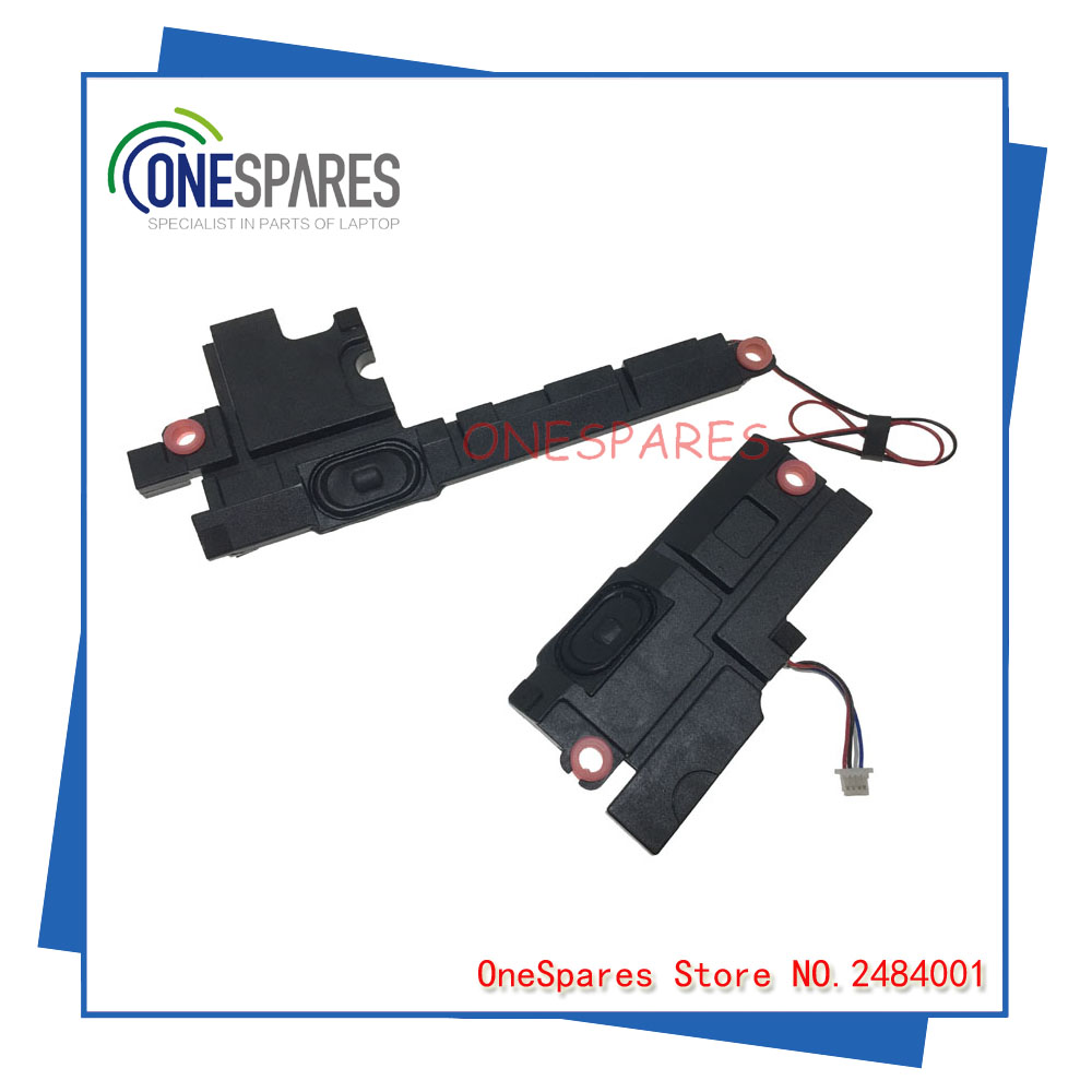 Original&NEW Laptop internal speaker For Dell For Inspiron 5755 5758 Set Assembly M1F4R 0M1F4R M1F4R Left Right PK230000000 new dc power jack socket connector wire harness for laptop dell inspiron 15 3558 5455 5000 5555 5575 5755 5758