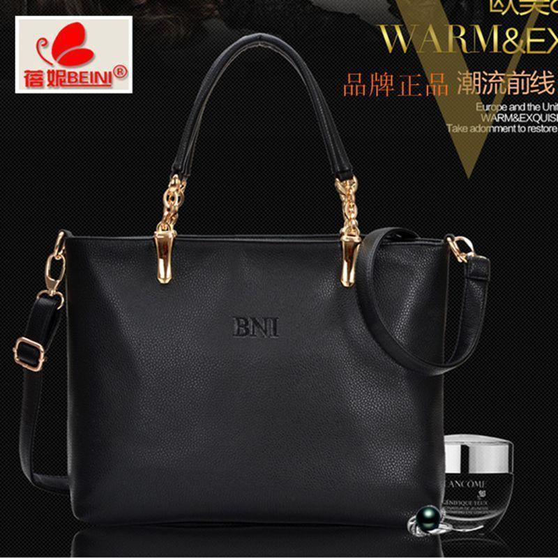 New 2017 Genuine leather fashion women handbag Elegant Simple women messenger bags European design shoulder bags