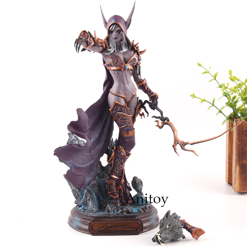цена на Cataclysm Lady Sylvanas Windrunner PVC Action Figure Collection Model Hot Toys