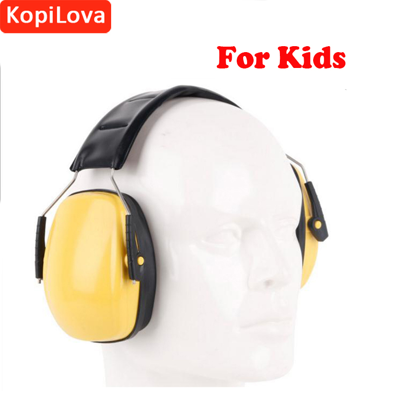 KopiLova Professional Kids Noise Ear Muffs Ear Protector Noise Reducer Sound Proof Hearing Protection Earmuff For Kids Children