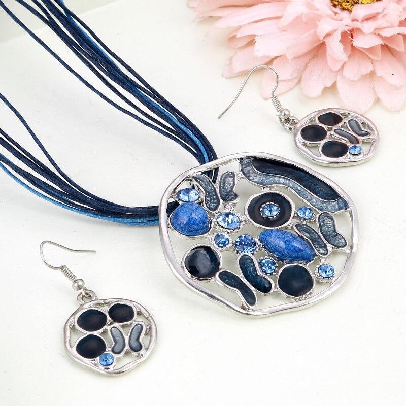 MINHIN Women Delicate Statement Jewelry Set