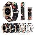 38-42 мм ремешок для часов Apple Watch 4 из натуральной кожи в деревенском стиле ремешок для часов серии Apple 1 2 3 4 ремешок iWatch
