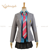 Kisstyle Fashion Your Lie in April Kaori Miyazono Uniform Cosplay Clothing Costume