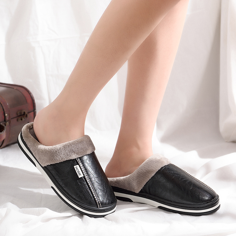 Slippers Winter Plus-Size Indoor Women Ladies New Sweet 40-46 Anti-Dirty