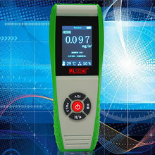 PM0.3 PM2.5 PM10 Monitor Formaldehyde HCHO TVOC Meter Gas Detector AQI Air Quality Monitor Gas Analyzer Gas Leak Detector