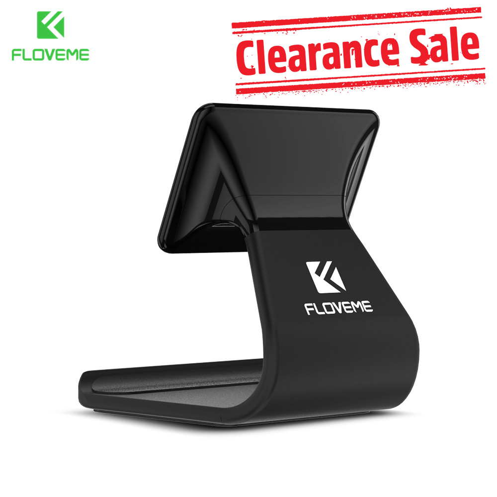 FLOVEME Desktop Phone Holder For iPhone X 8 7 6 6s Plus 5S Nano Adsorption Stand Holder For Huawei Mate 10 P20 P10 P9 Honor Lite
