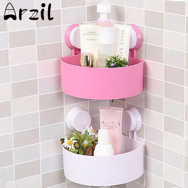 Plastic Washroom Toilet Racks Holder Bathroom Storage Shelf Wall ...