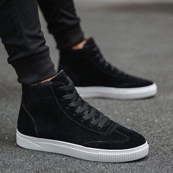 2018 Buty Do Chodzenia Dla Mężczyzn zasznurować Botki Mężczyzna Sneakers Oddychająca Wysokiej Męskie Sneaker Dropshipping 0911