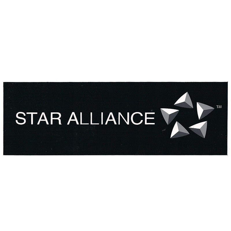 5PCS STAR ALLIANCE Logo Sticker Water Proof for Car Motorcycle Luggage Fridge for Aviation Lover Pilot Flight Crew