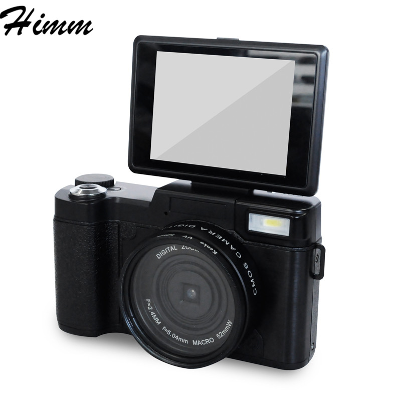 RICH P1 digital camera font b home b font digital camera flip screen camera special gift