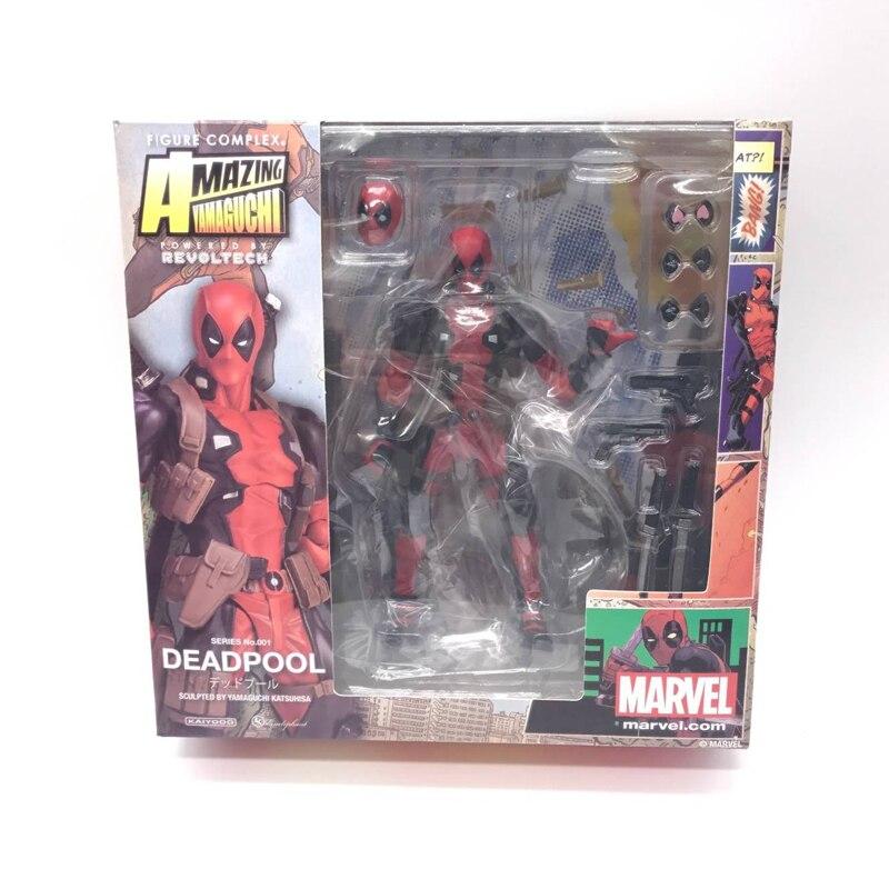 Marvel 15cm dobozos X-MAN DeadPool szuperhős BJD figurájú - Játék figurák - Fénykép 5