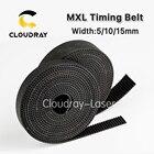 Cloudray MXL Open-Ended Timing Belt Transmission Belts Rubber Width 5mm For Fiber YAG CO2 Laser Engraving Cutting Machine