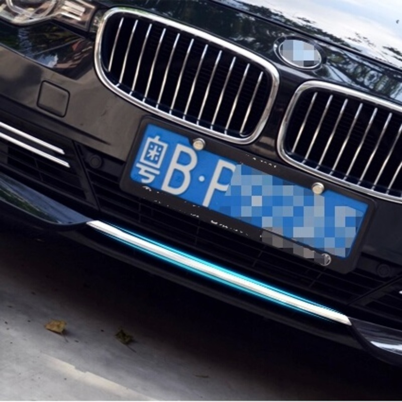 car accessories chromium front bumper trim bright refit sequins decorative exterior parts decoration FOR BMW 3 series