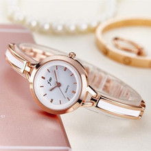 Top brand luxury women quartz-watch stainless steel ladies fashion Analog bracelet dress watch women montre femme wrist watches sekaro women luxury top brand watch ladys lucky flower fashion wrist watch women s wristwatch montre femme quartz watch for gift