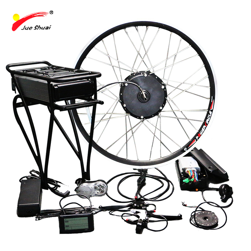 48 v 500 w Kit De Conversion Vélo Électrique avec Batterie 48 v 12AH Hub Moteur Roue s900 LCD Ebike 700C 26 e-bike Kit de Conversion