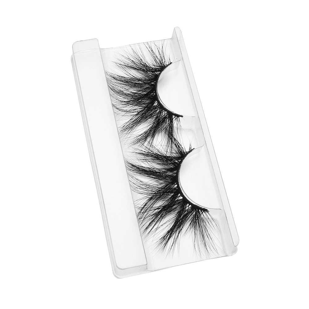 100% норковые ресницы 25 мм 3D норковые накладные ресницы крест-накрест Пышные ресницы натуральные накладные ресницы инструменты для макияжа