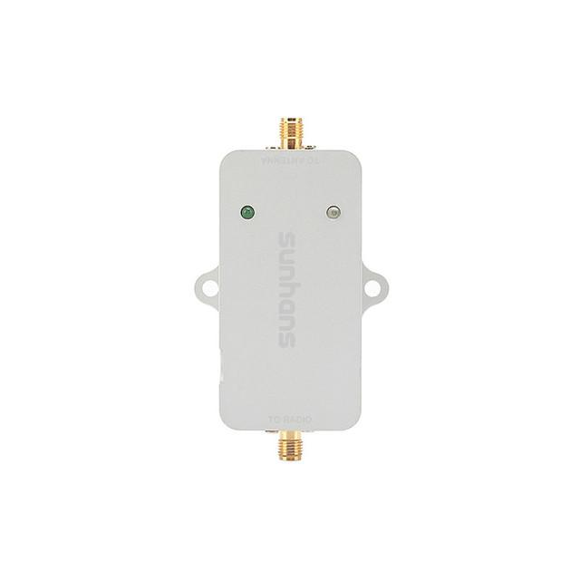 1 unidades amplificadores de señal sunhans 2500 mw 34dbm wifi de interior 2.4 ghz 802.11b/g/n wireless amplificador de señal ce y fcc y rohs