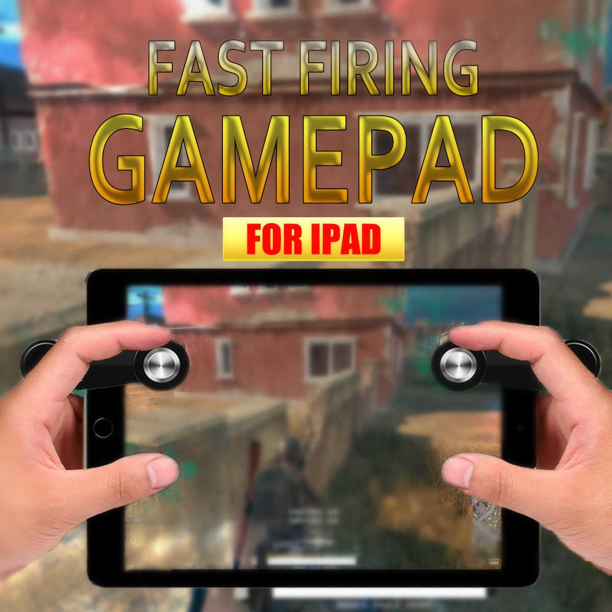 1 шт. для мобильного игрового планшета PUBG джойстик сенсорная игровая кнопочный джойстик для быстрой стрельбы геймпад для iPad