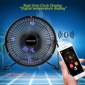 USB Fan Bluetooth APP Texts Cl
