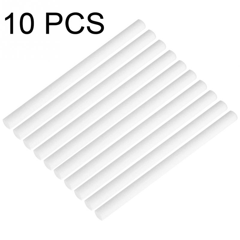 10Pcs Humidifiers Filters Replacement Filter Cotton Swab Can Be Cut For USB Air Aroma Diffuser Part Drop Shipping Support 8MM