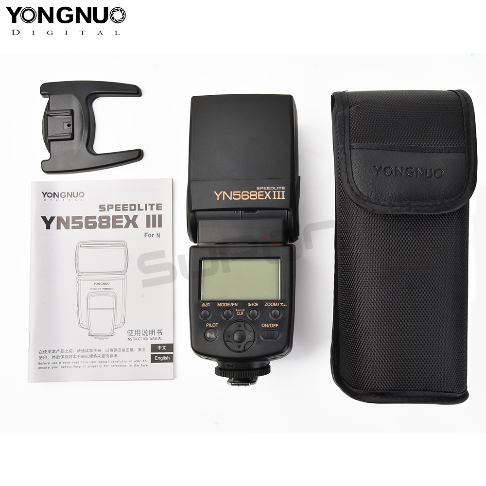 Yongnuo YN-568EX III YN568EX HSS 1/8000s Flash Speedlite For Canon 1100d 650d 60d 700d for Nikon D800 D750 D7100 D650 D700 D60 yongnuo yn 568ex iii yn568ex iii wireless ttl hss flash speedlite light for canon 5d3 5d2 6d 7d 5d mark iv nikon d800 d750 d7100